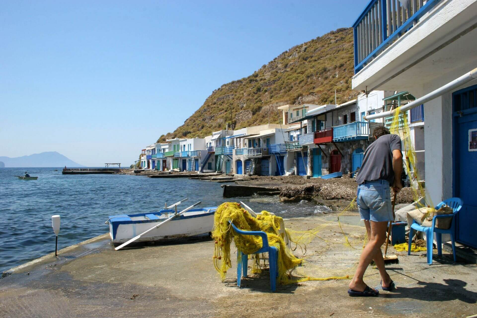 Cyclades islands: The fishing villages of Milos island