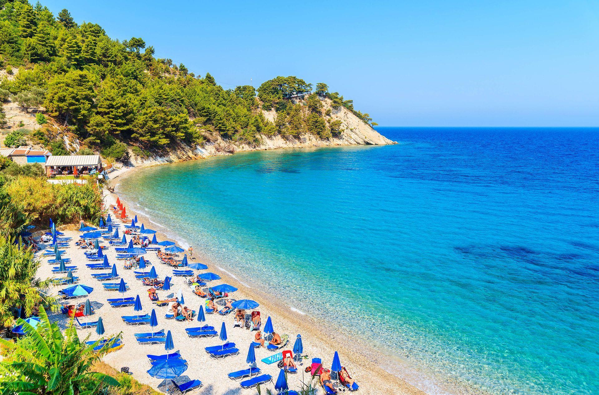 Eastern Aegean islands: Lemonakia beach on Samos island