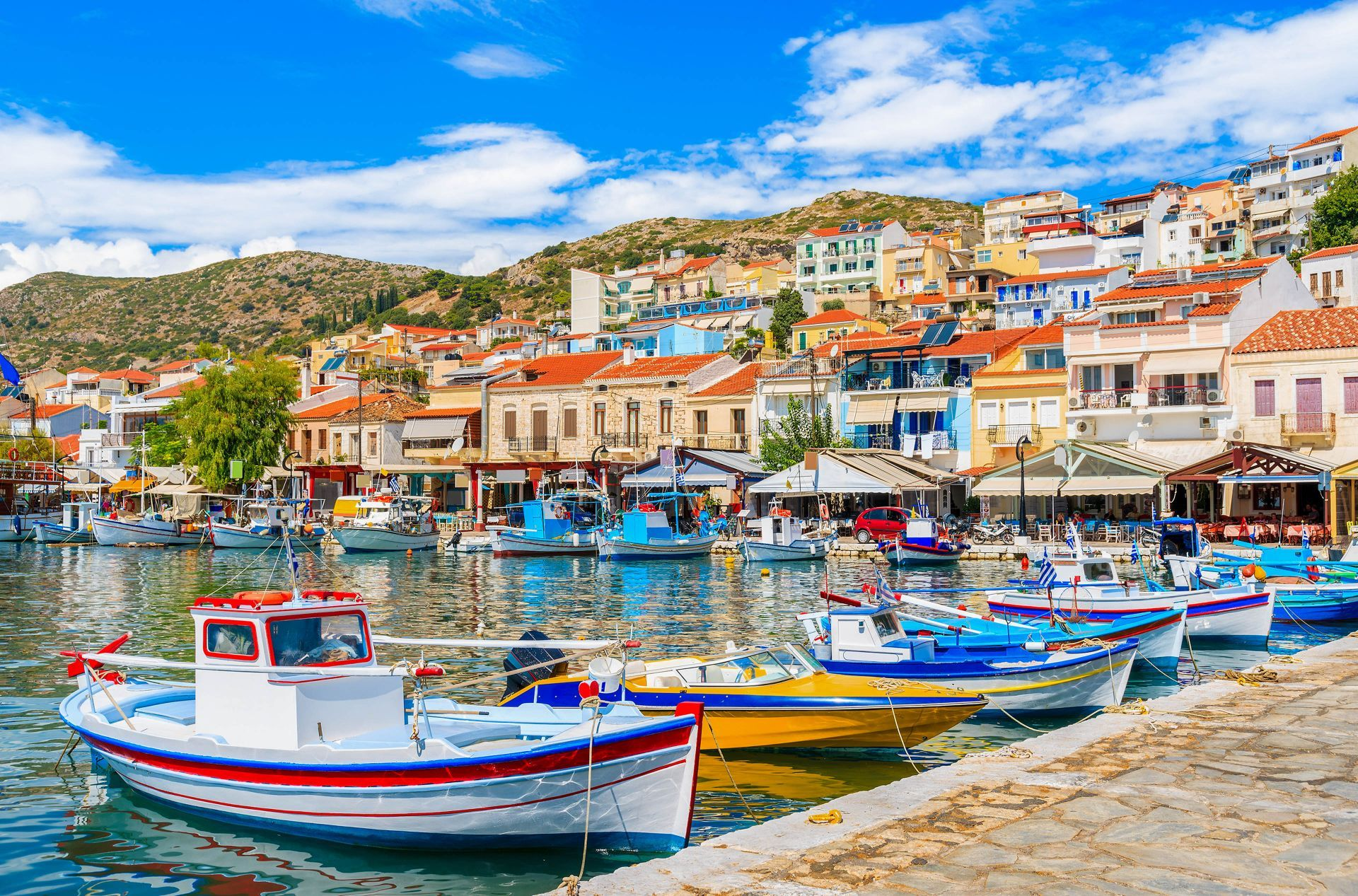 Eastern Aegean islands: Pythagorion in Samos