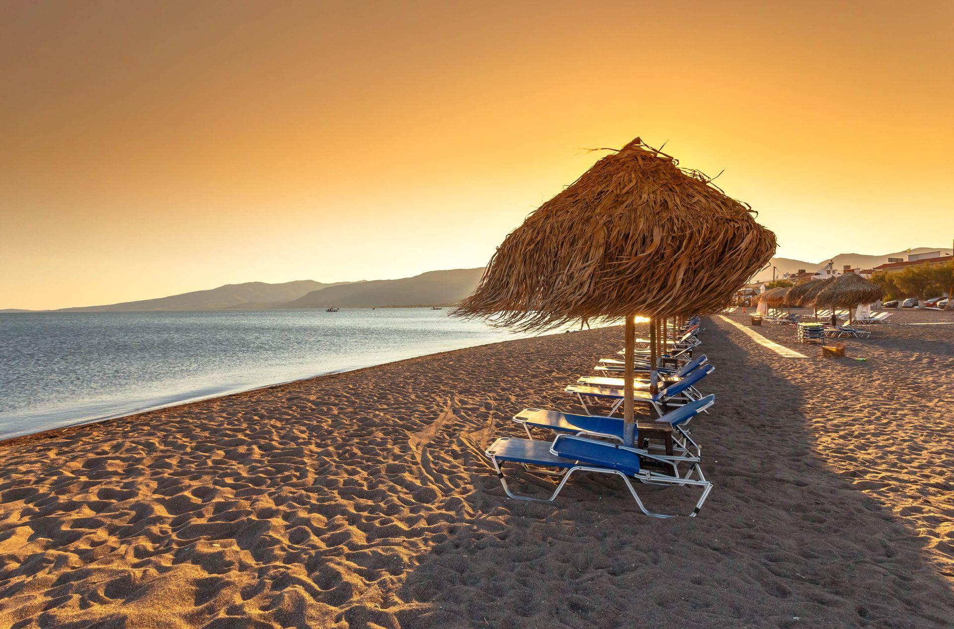 Eastern Aegean Greece: Lesvos beaches