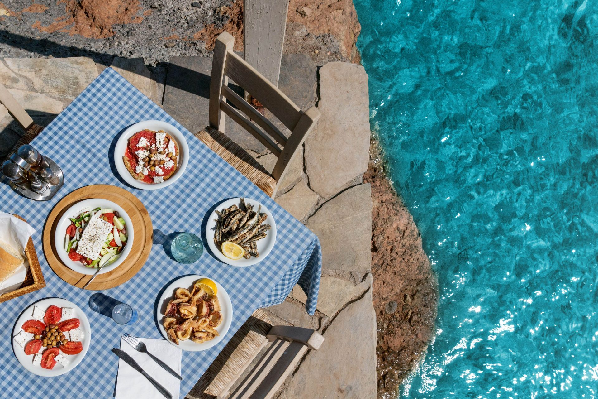 Restaurants in Greece and the islands