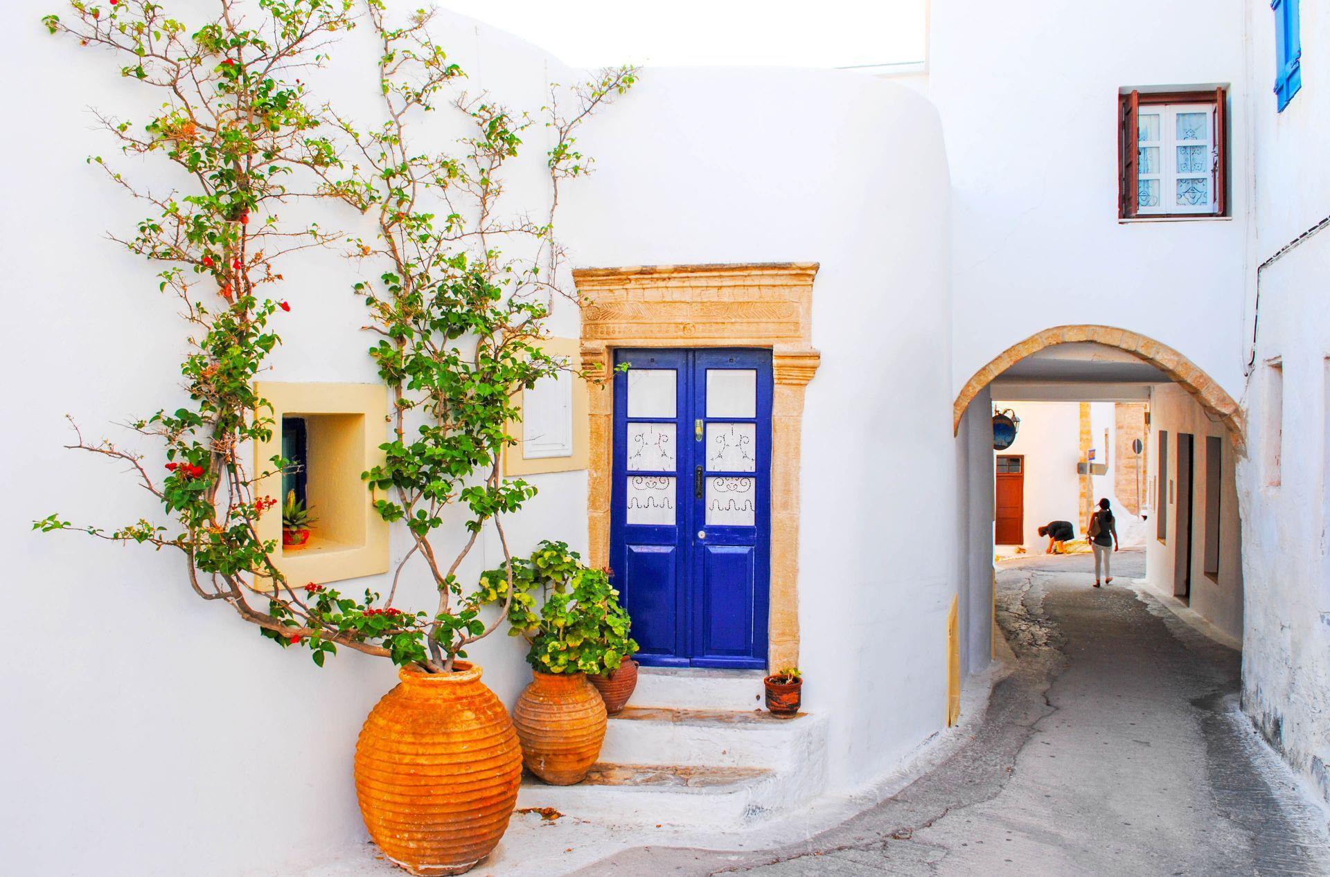 Ionian islands: Chora, the main village of Kythira Island