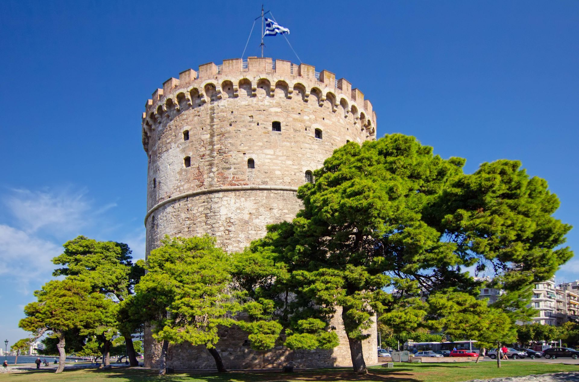Macedonia Greece: The White Tower of Thessaloniki