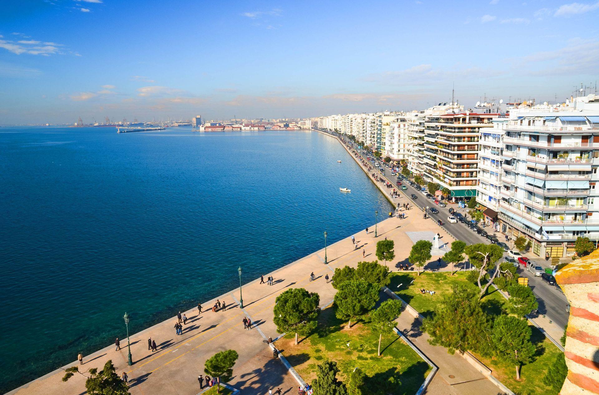 Macedonia: Thessaloniki beach Promenade