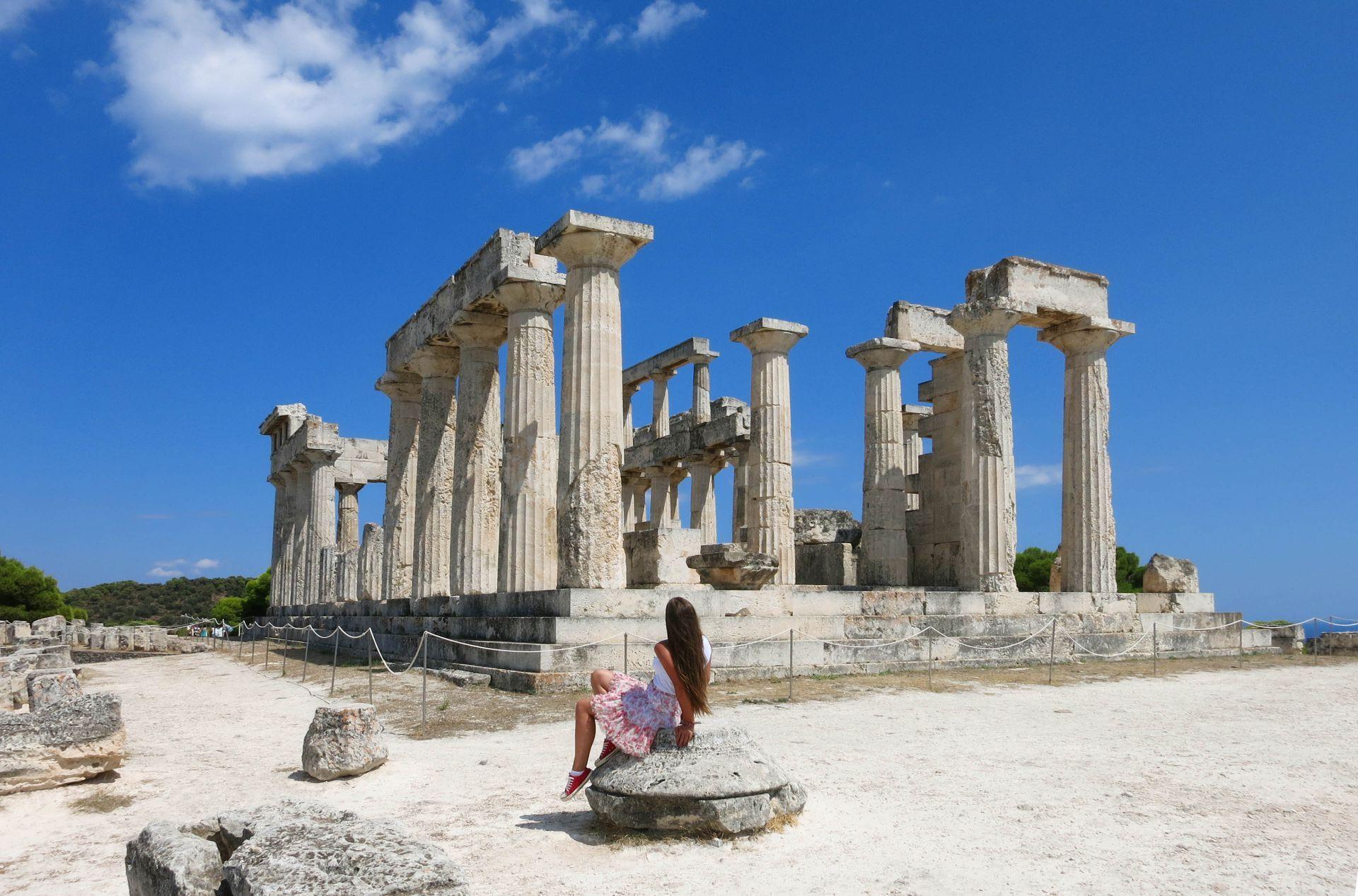 Saronic Greece: Aphaia temple on Aegina island