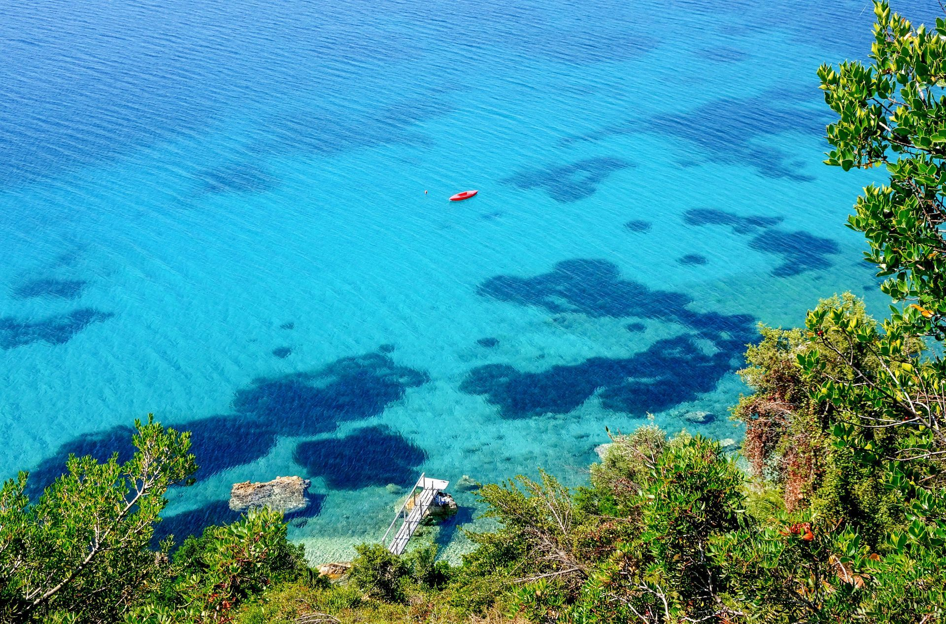 Sporades islands: The crystal clear waters of Alonissos island