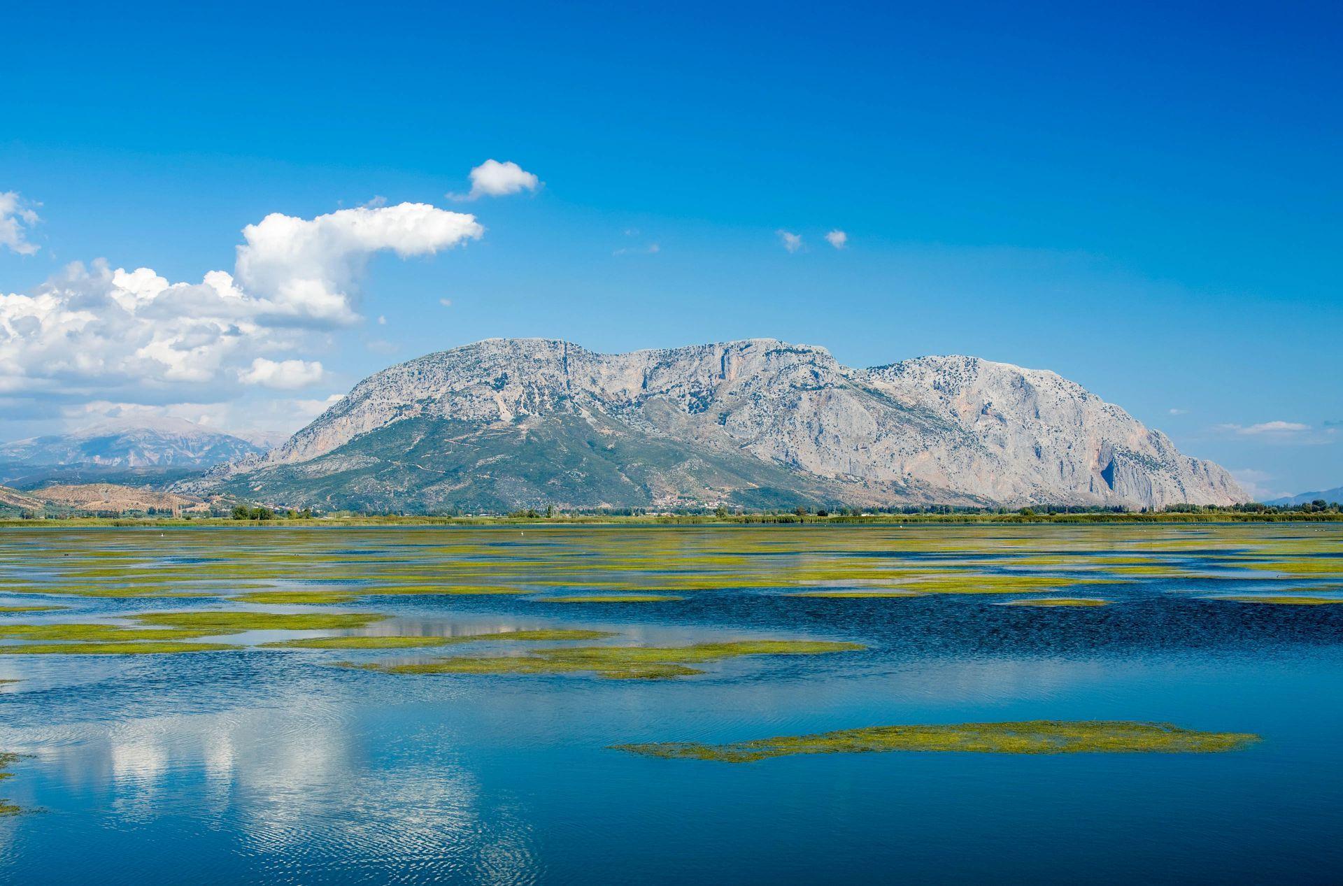 Sterea: The sea lake of Mesolongi