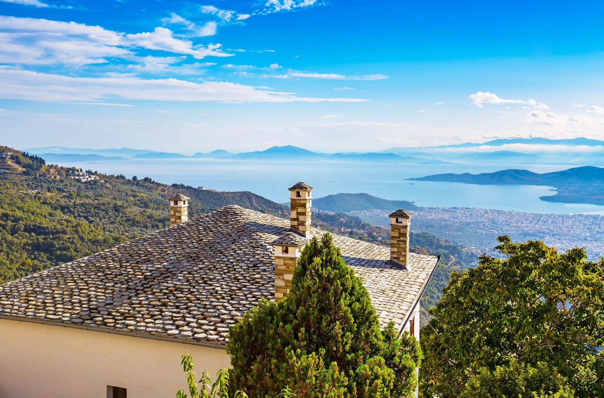 Thessaly: The villages of Pelion