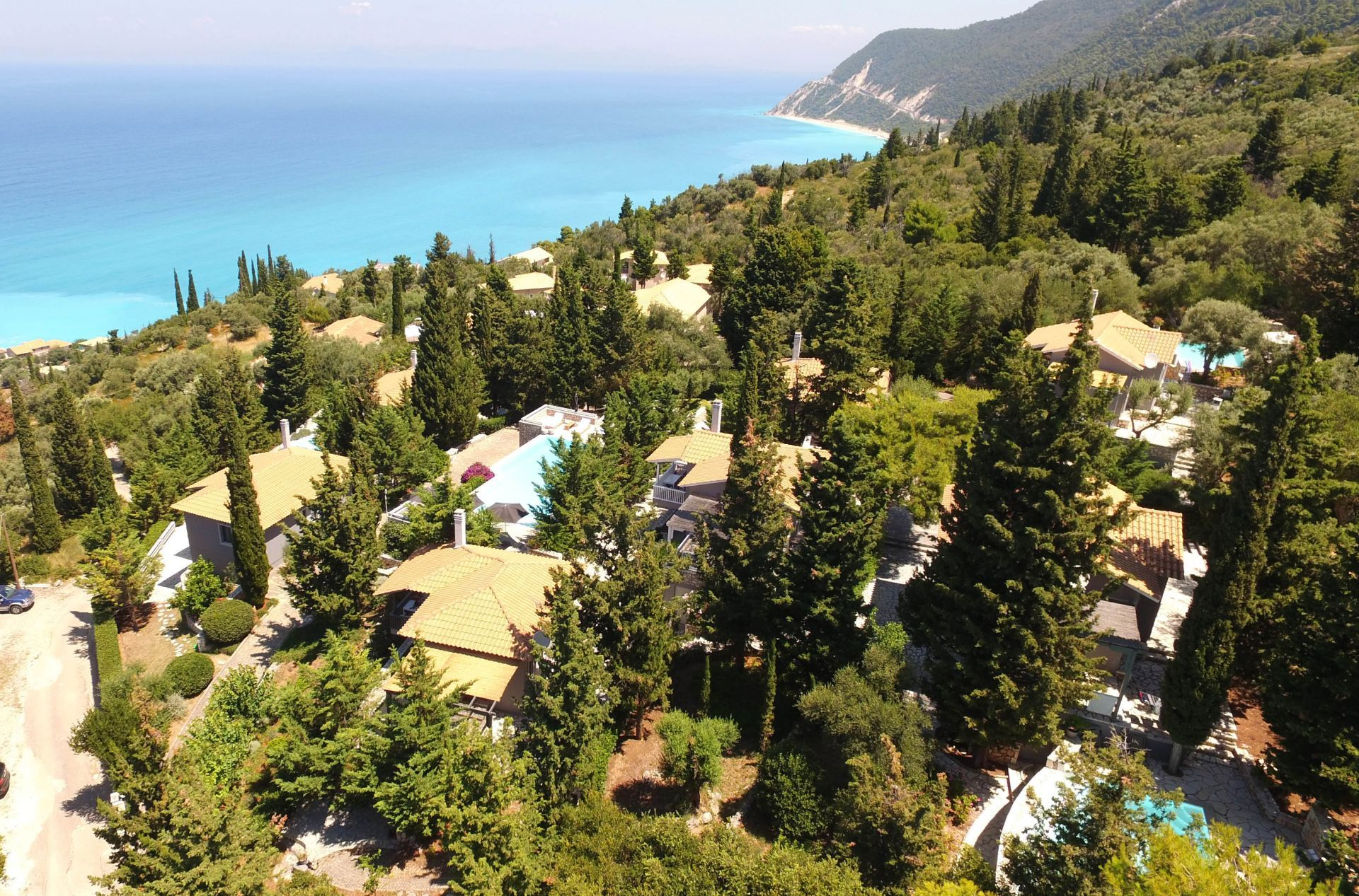Accommodation and hotels in the Ionian