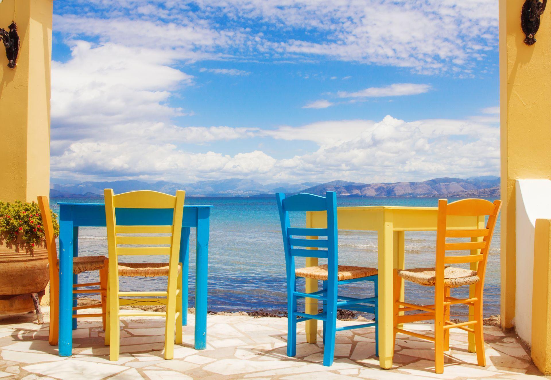 Restaurants in Corfu