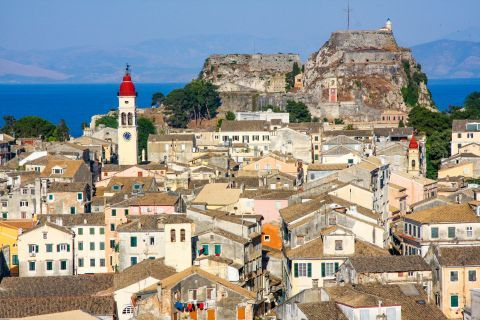 The Town of Corfu is one of the most elegant towns in Greece.