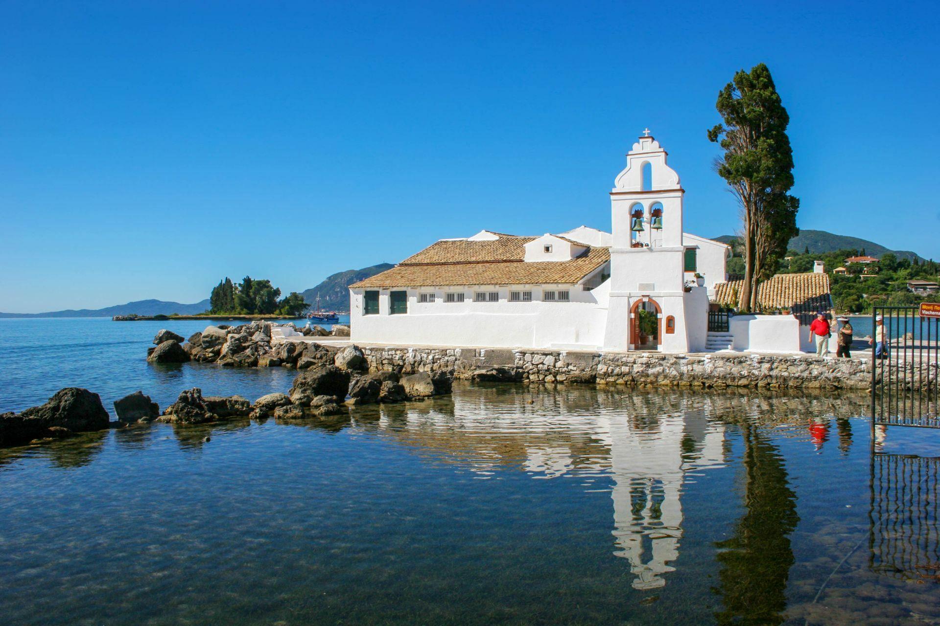 Corfu island: Mouse Island