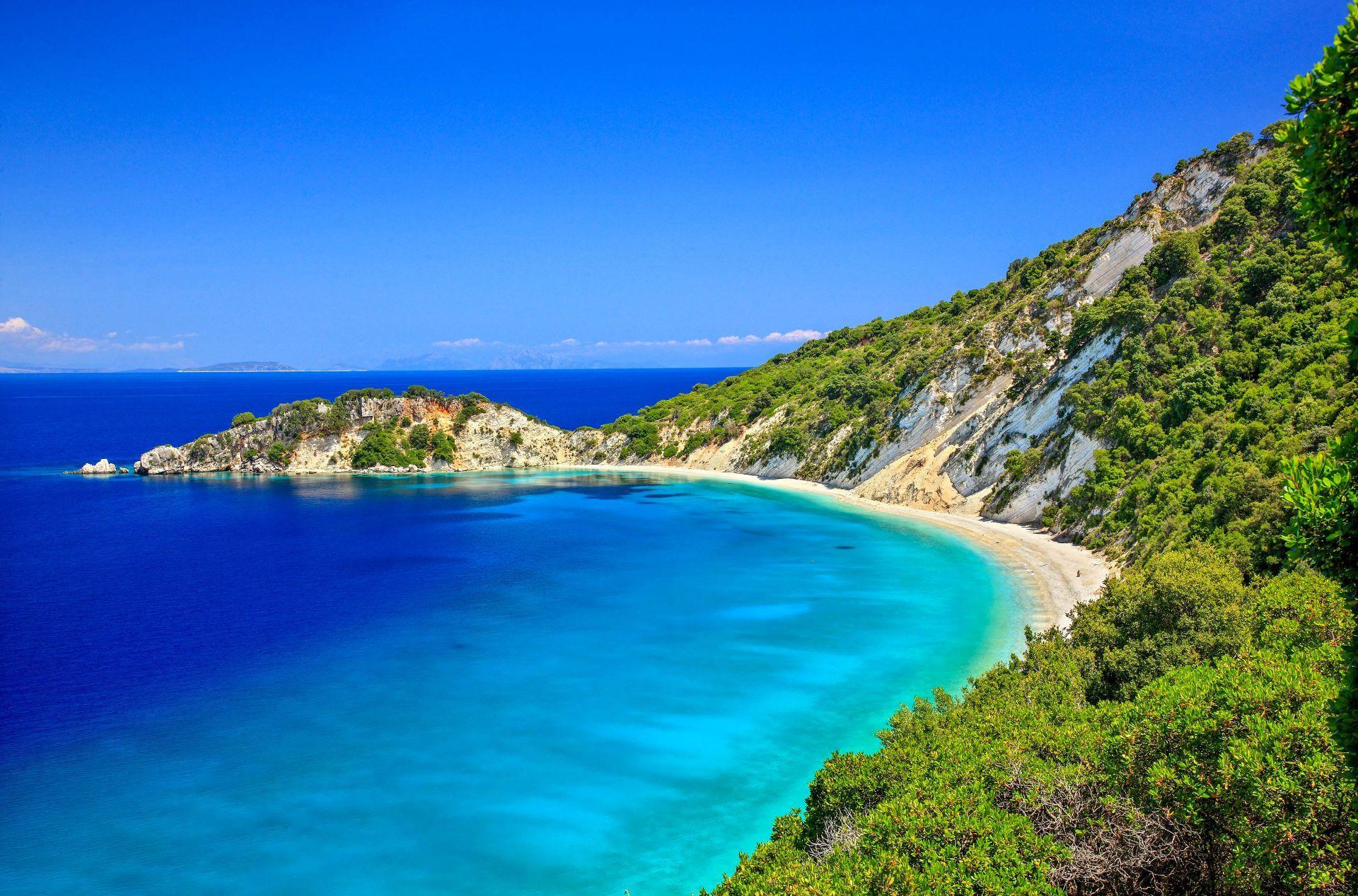 Ithaca island: Gidaki beach