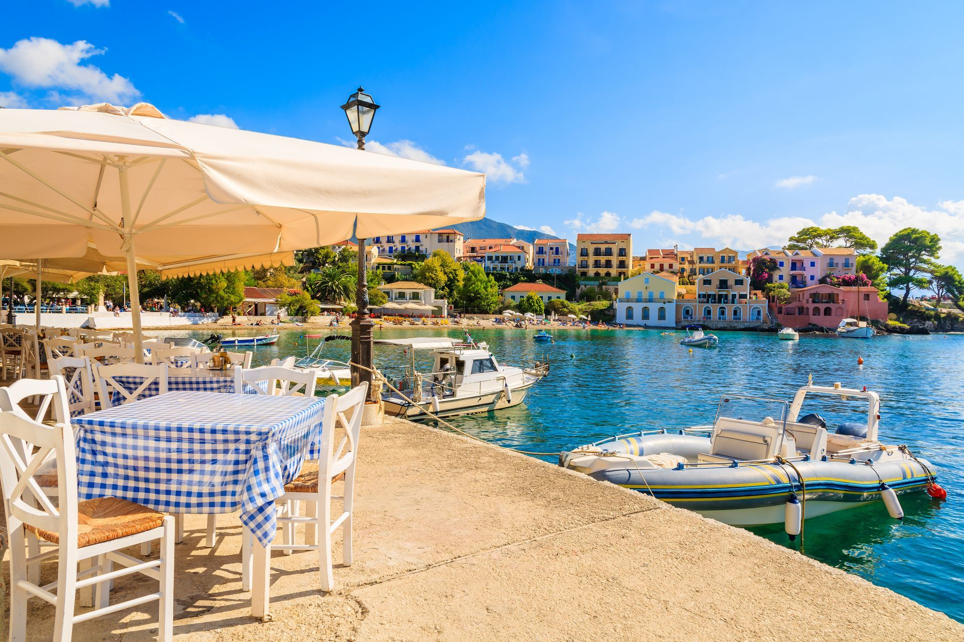 Places to eat and drink in Kefalonia