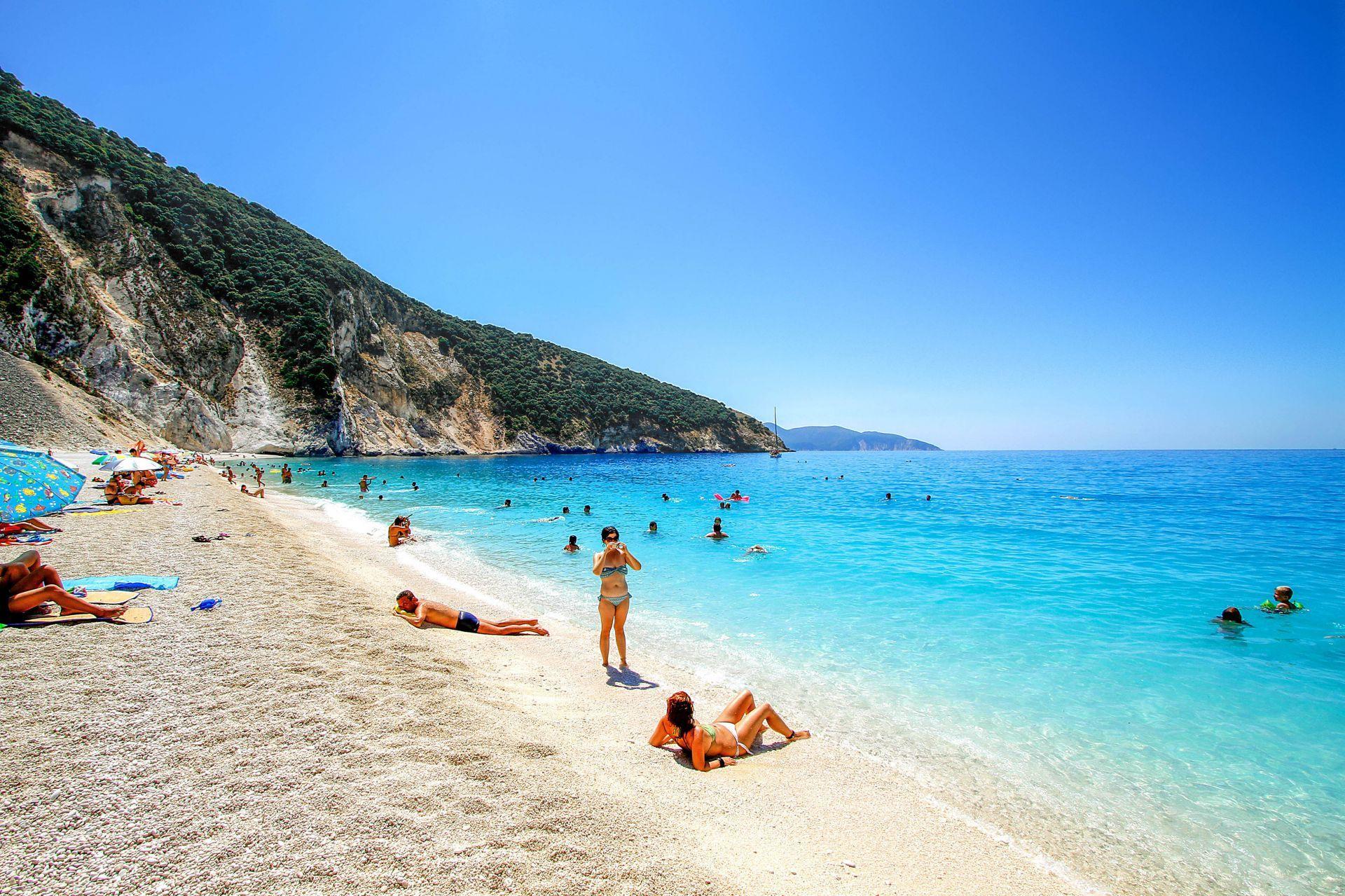 Kefalonia island: Myrtos beach