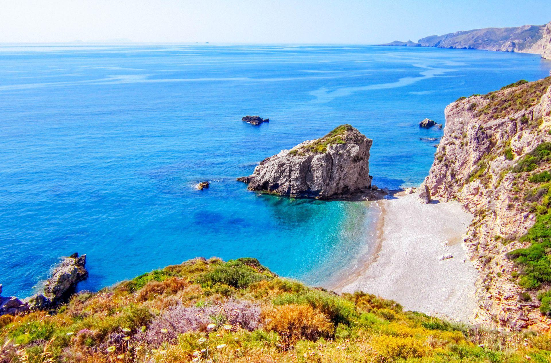 Kythira island: Kaladi beach