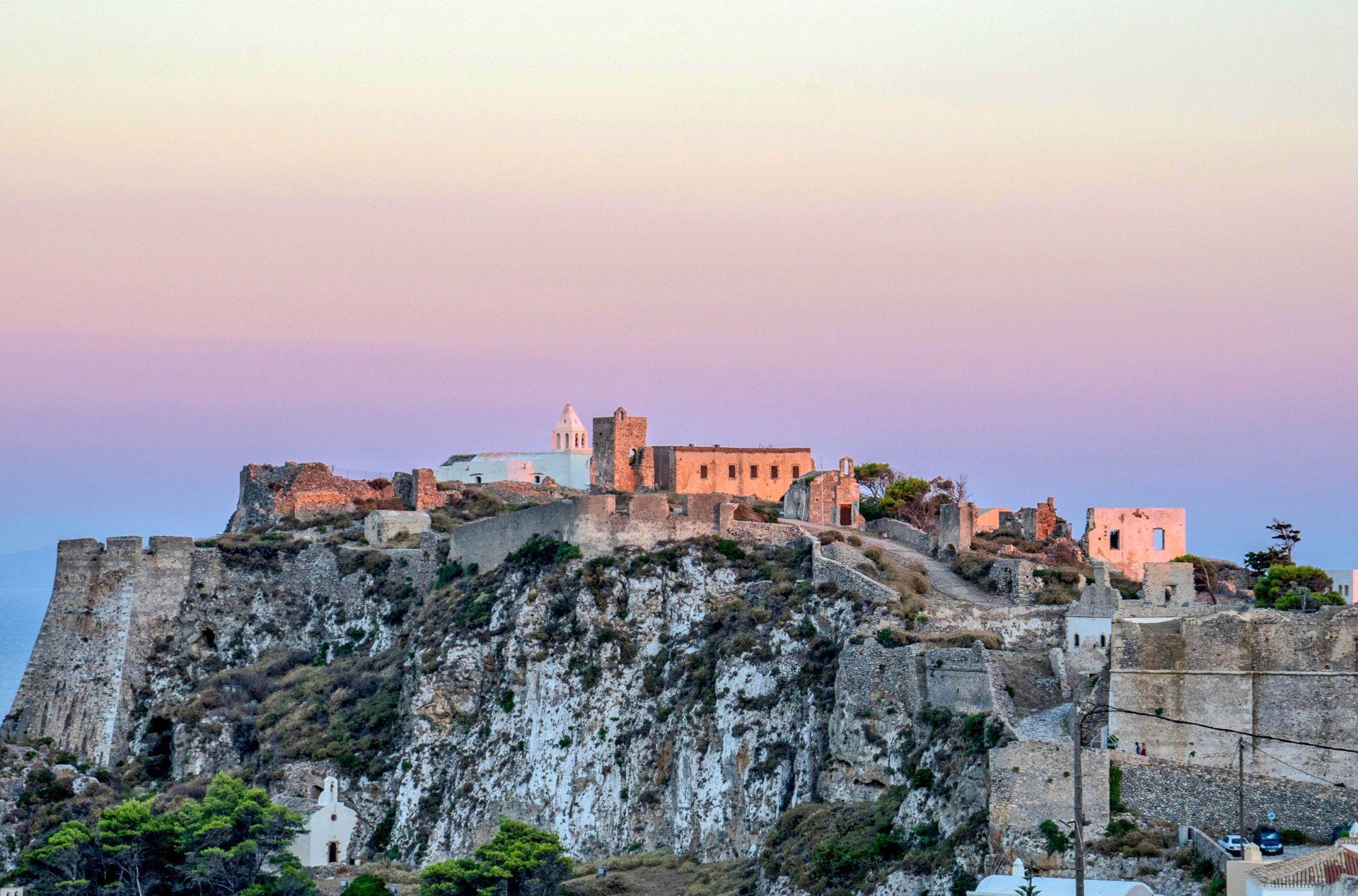 Kythira island: Castle of Chora