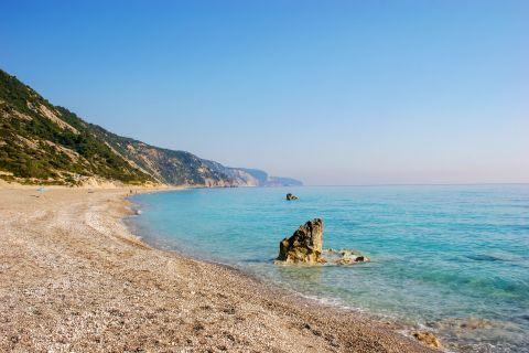 Gialos beach, Lefkada.
