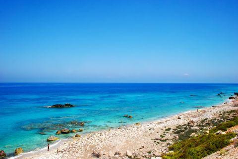 Magical waters. Skala beach, Lefkada.