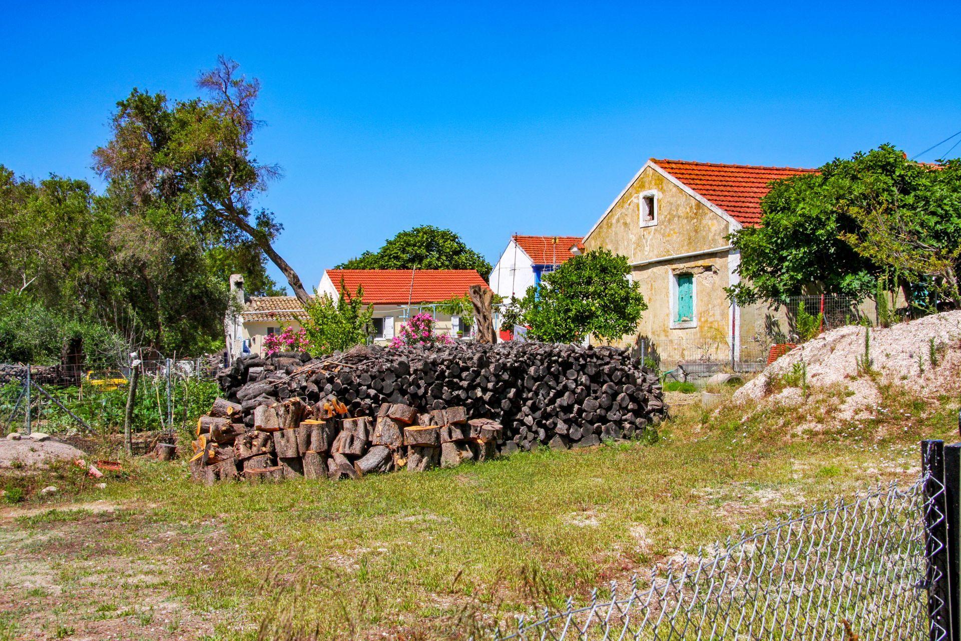 Mathraki island: Chorio