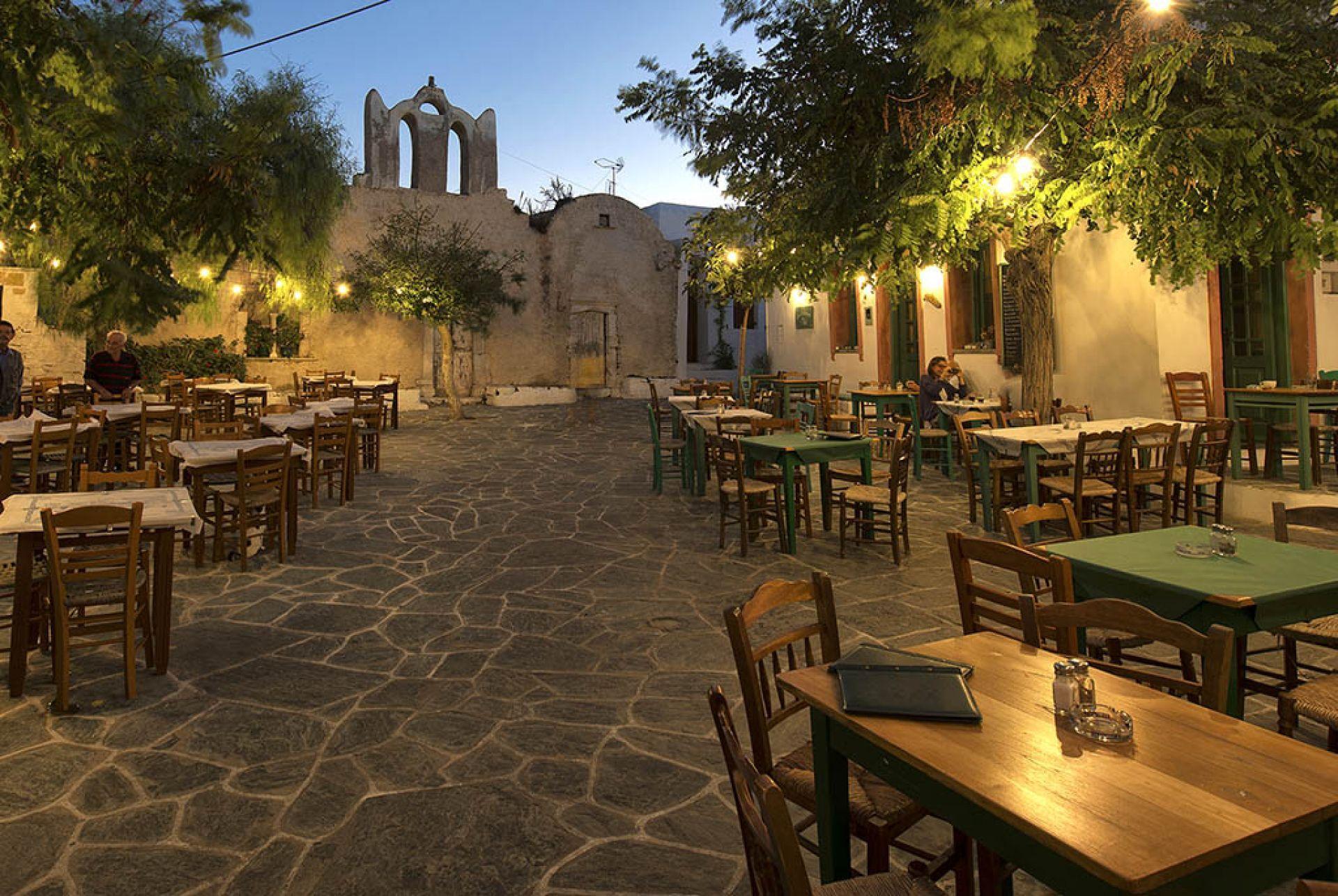 Restaurants in Meganisi