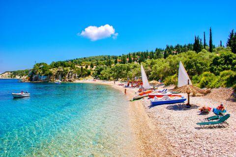 Monodendri beach, Paxi.
