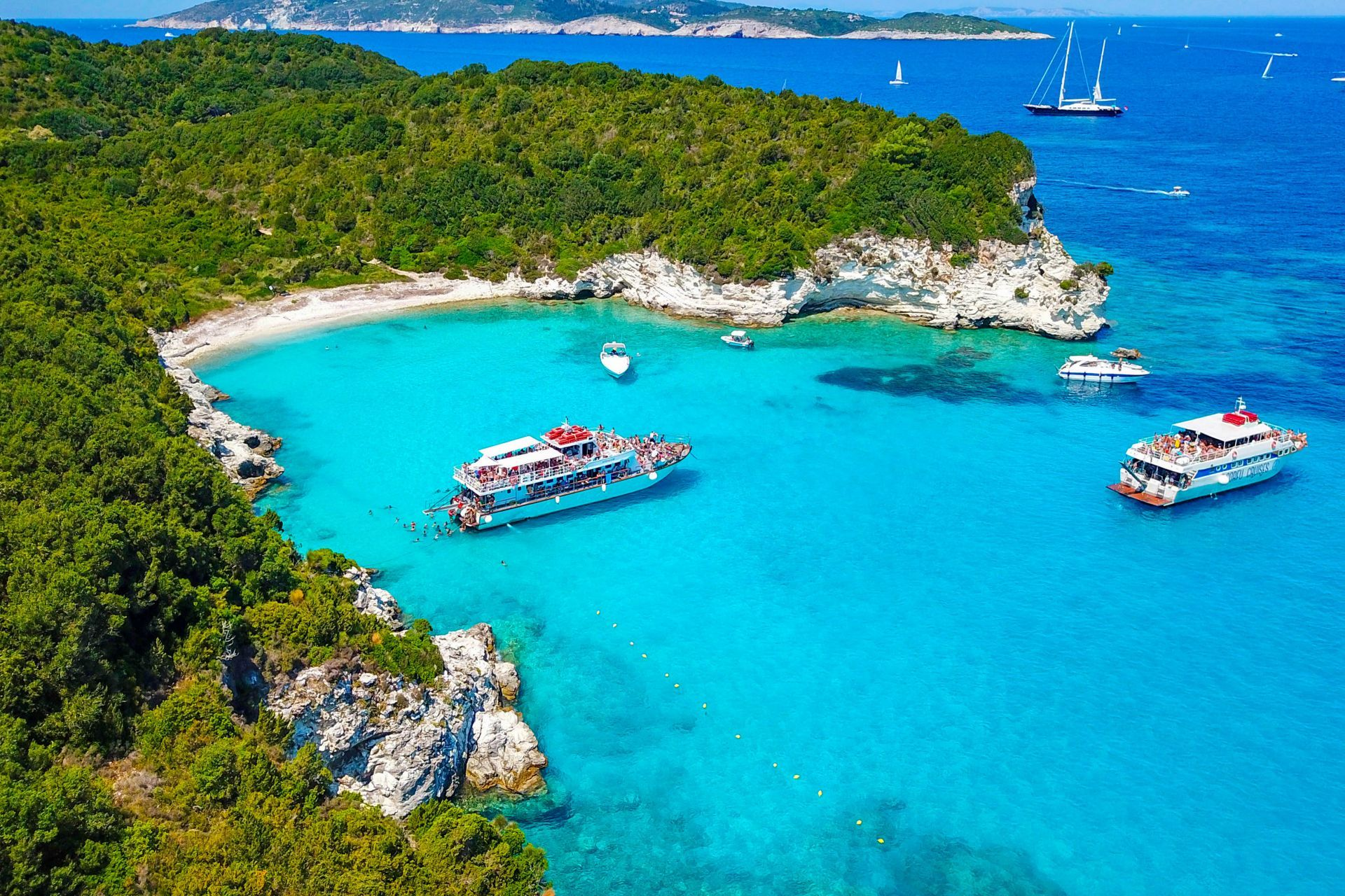 Paxi island: Antipaxos
