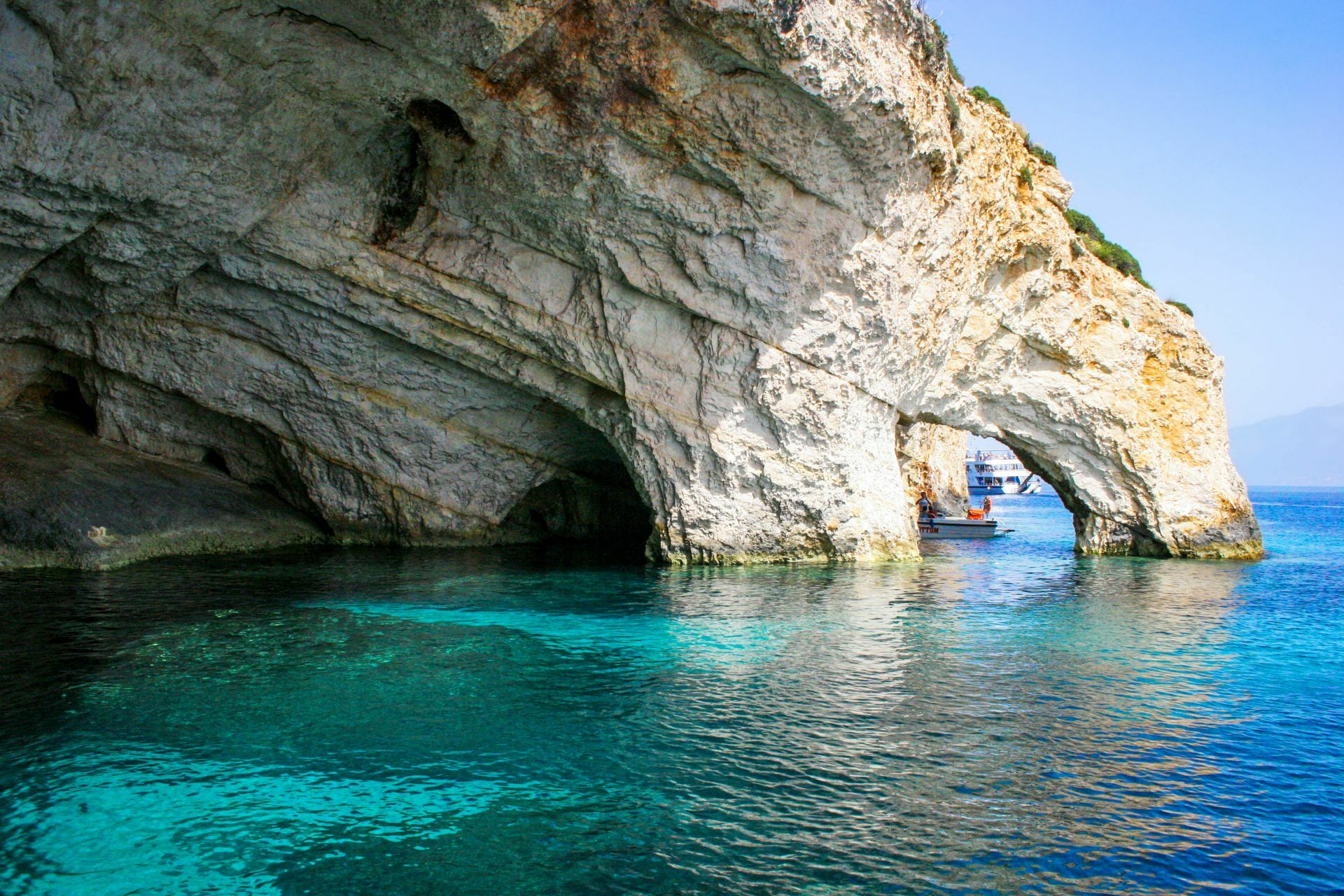 Zakynthos island: Blue caves