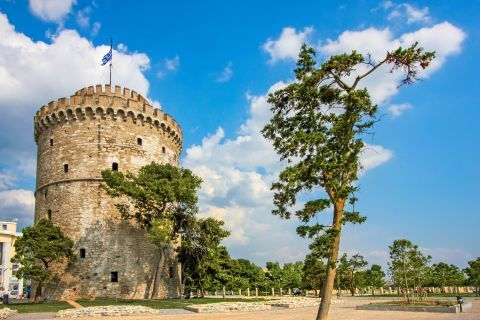 The White Tower, Thessaloniki.