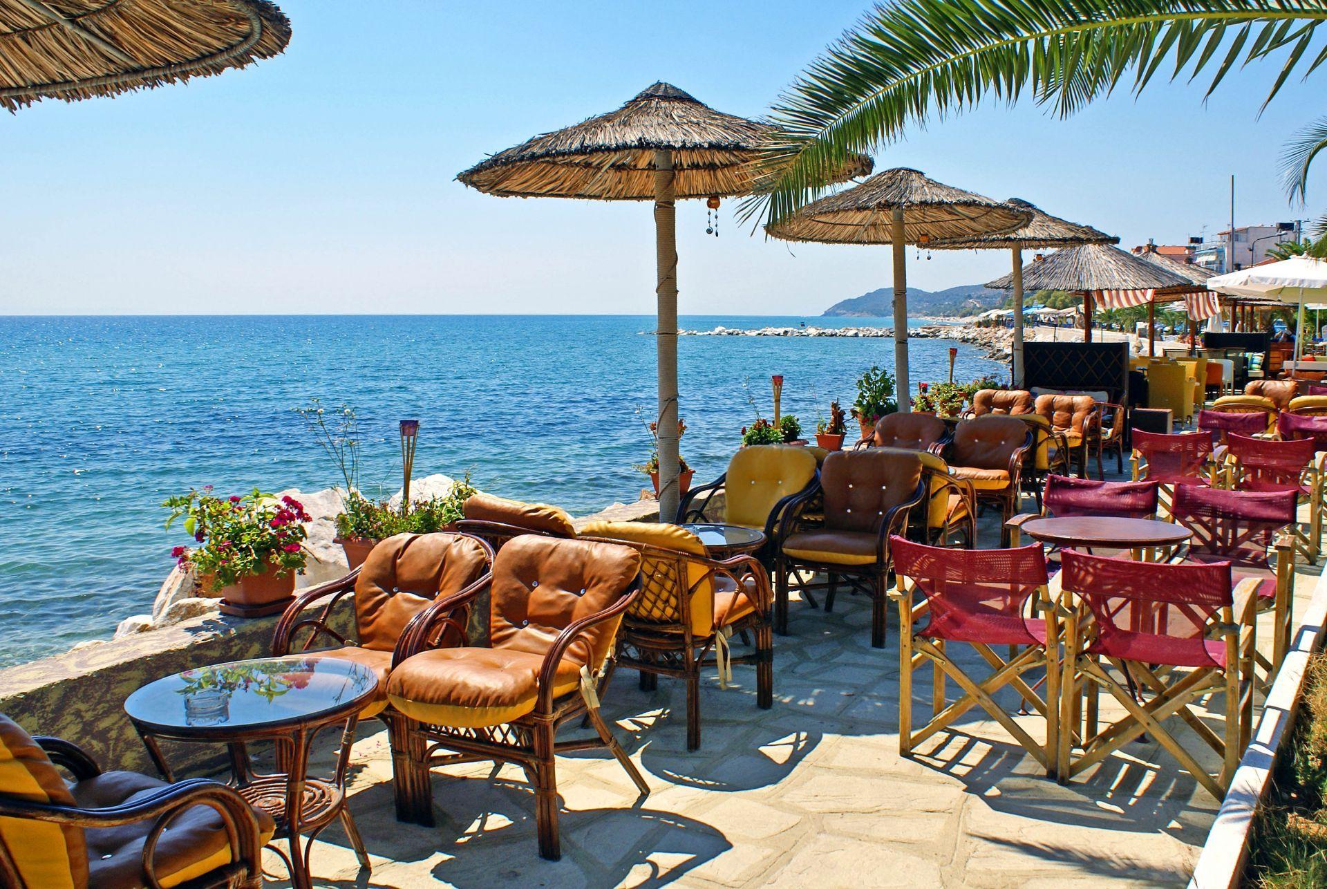 Cafes in Halkidiki