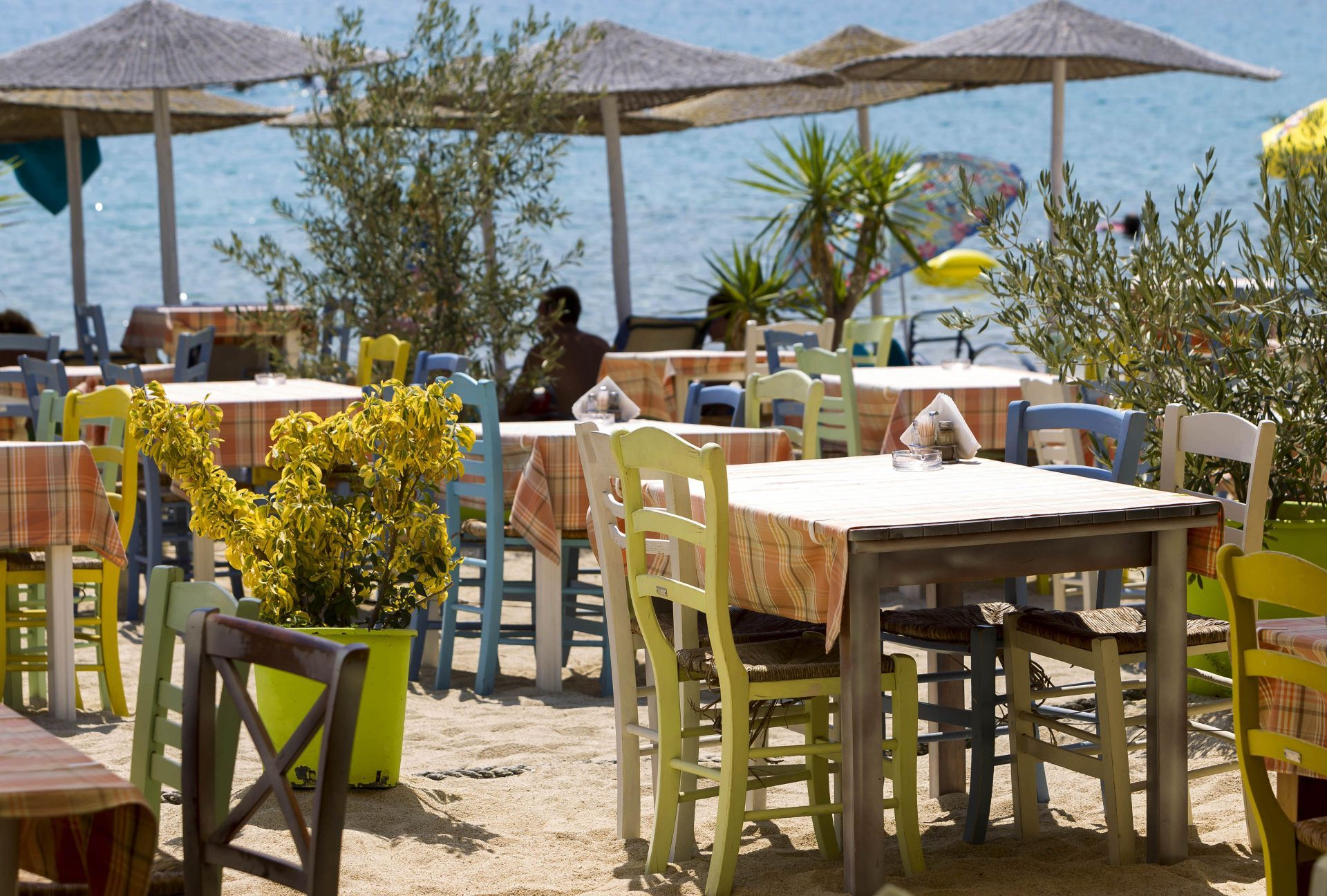 Places to eat and drink in Halkidiki