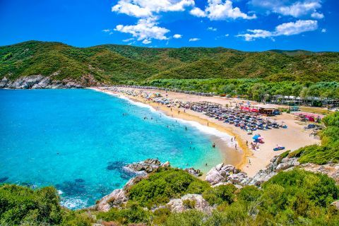 Kalamitsi beach, Halkidiki
