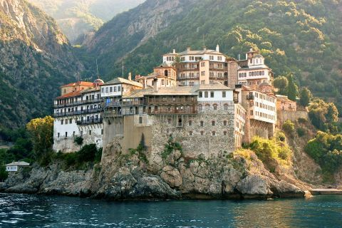 Mount Athos (Hagion Oros), or Holy Mountain, is a UNESCO World Heritage Site.