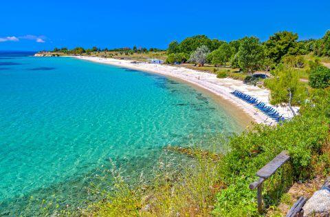 Agios Ioannis beach, Halkidiki