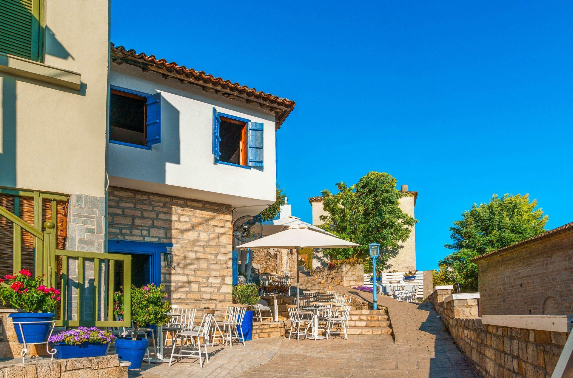 Halkidiki: Afitos village