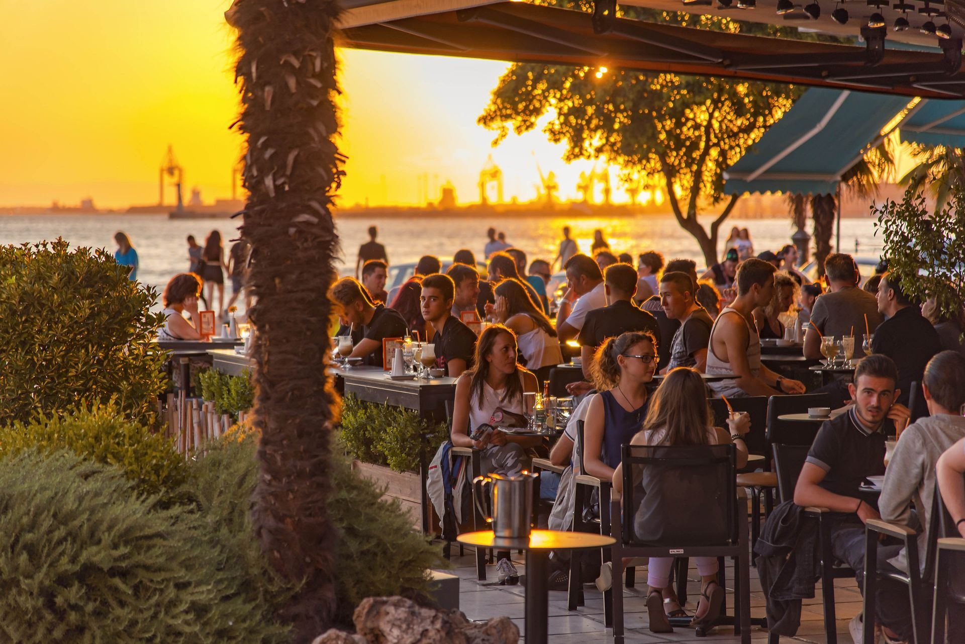 Cafes in Thessaloniki