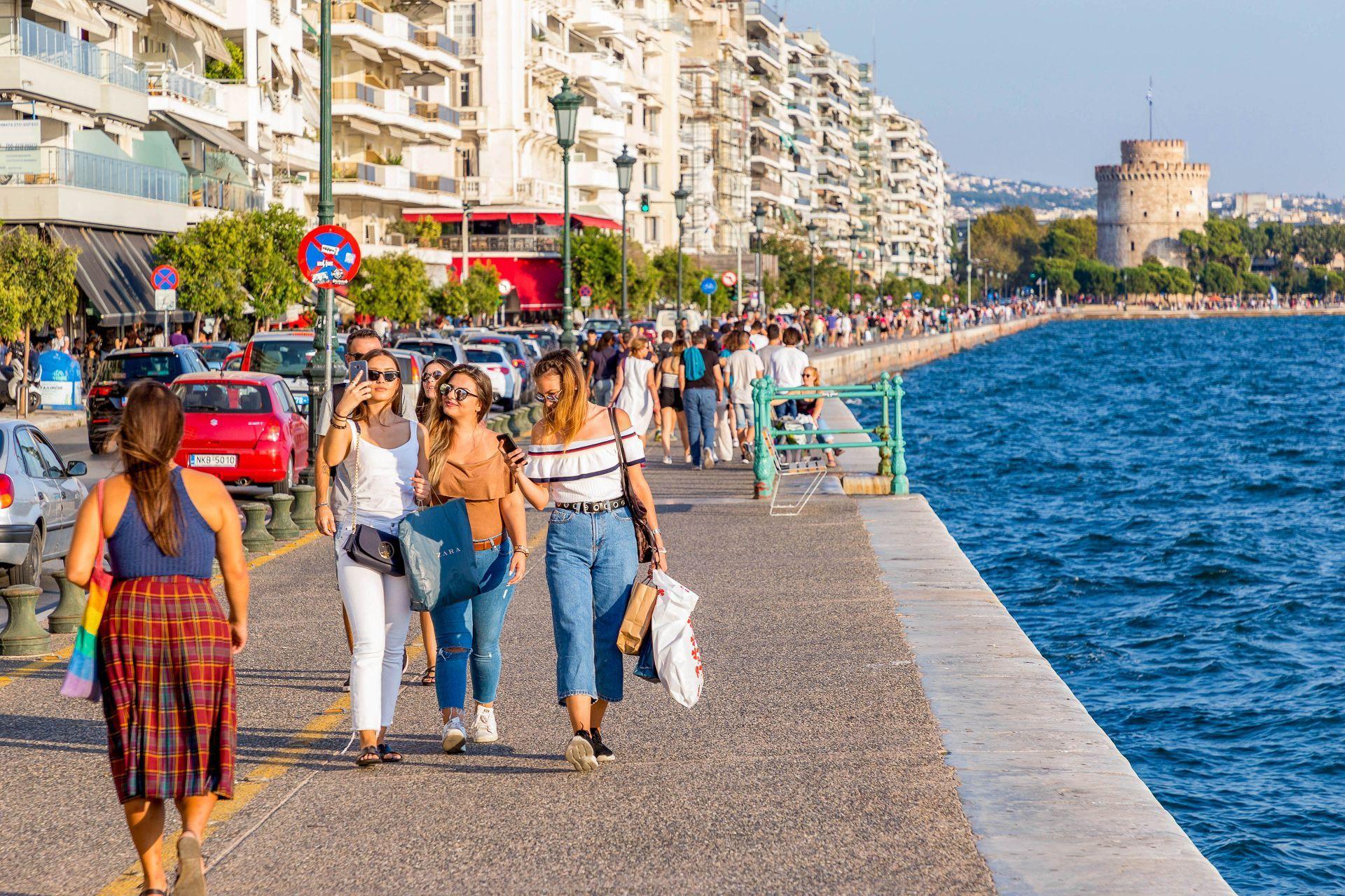 Thessaloniki: Beach Promenade