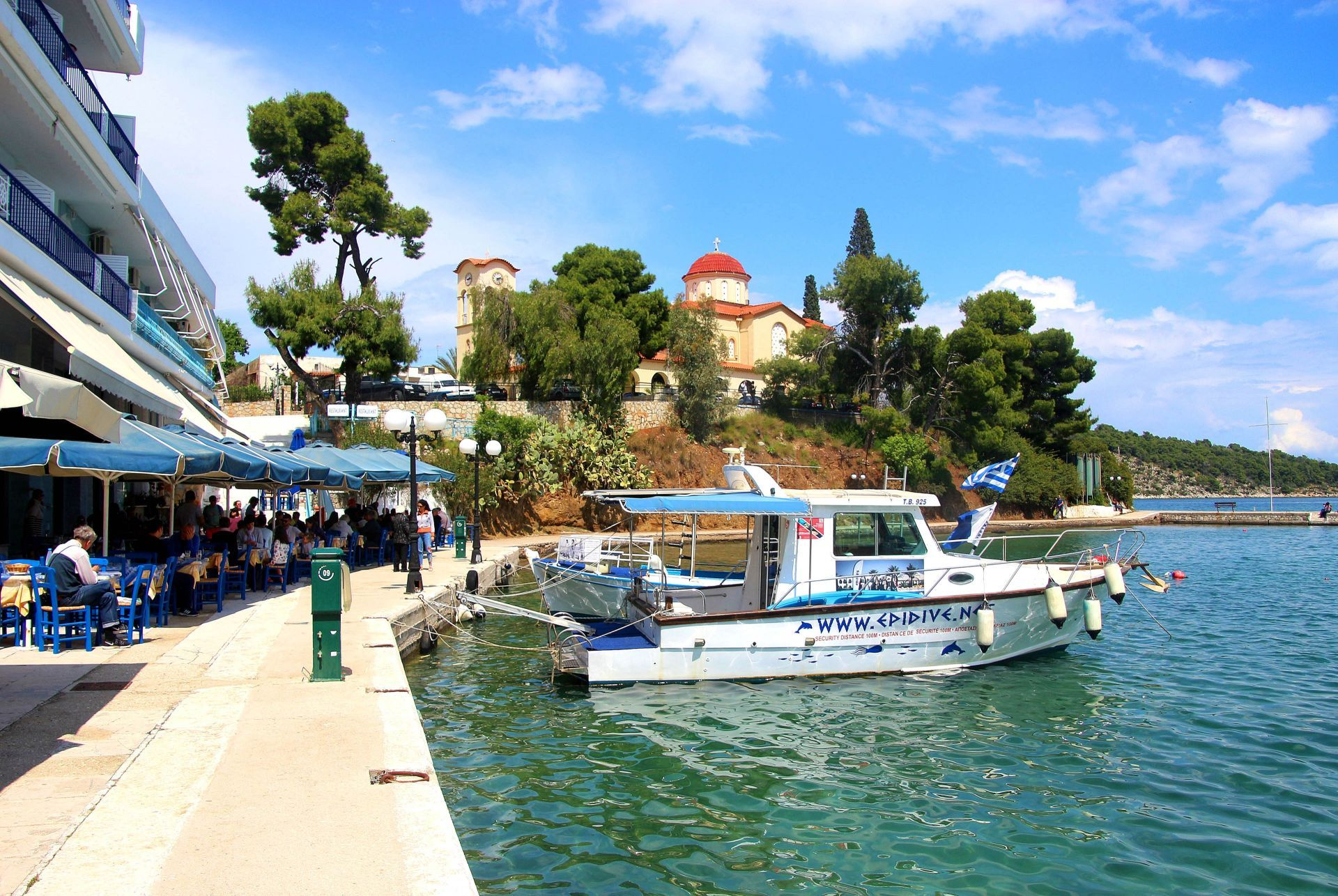 Places to eat and drink in Epidaurus