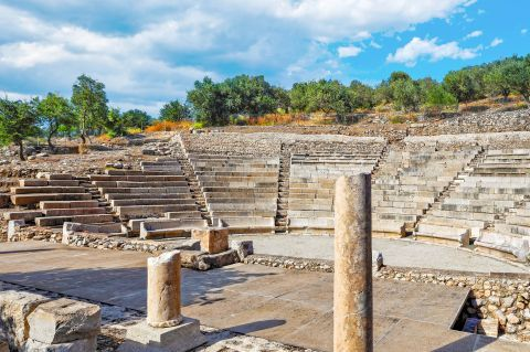 The small Ancient Theater of Epidaurus