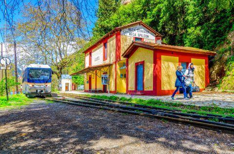 Odontotos train, Kalavryta.