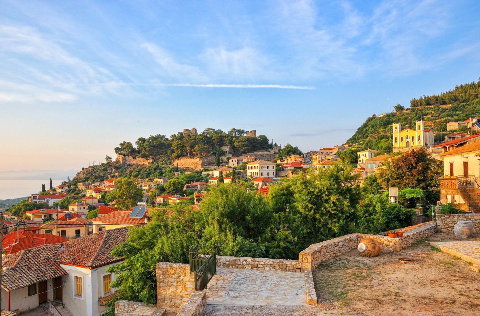 Kyparissia: Upper Town