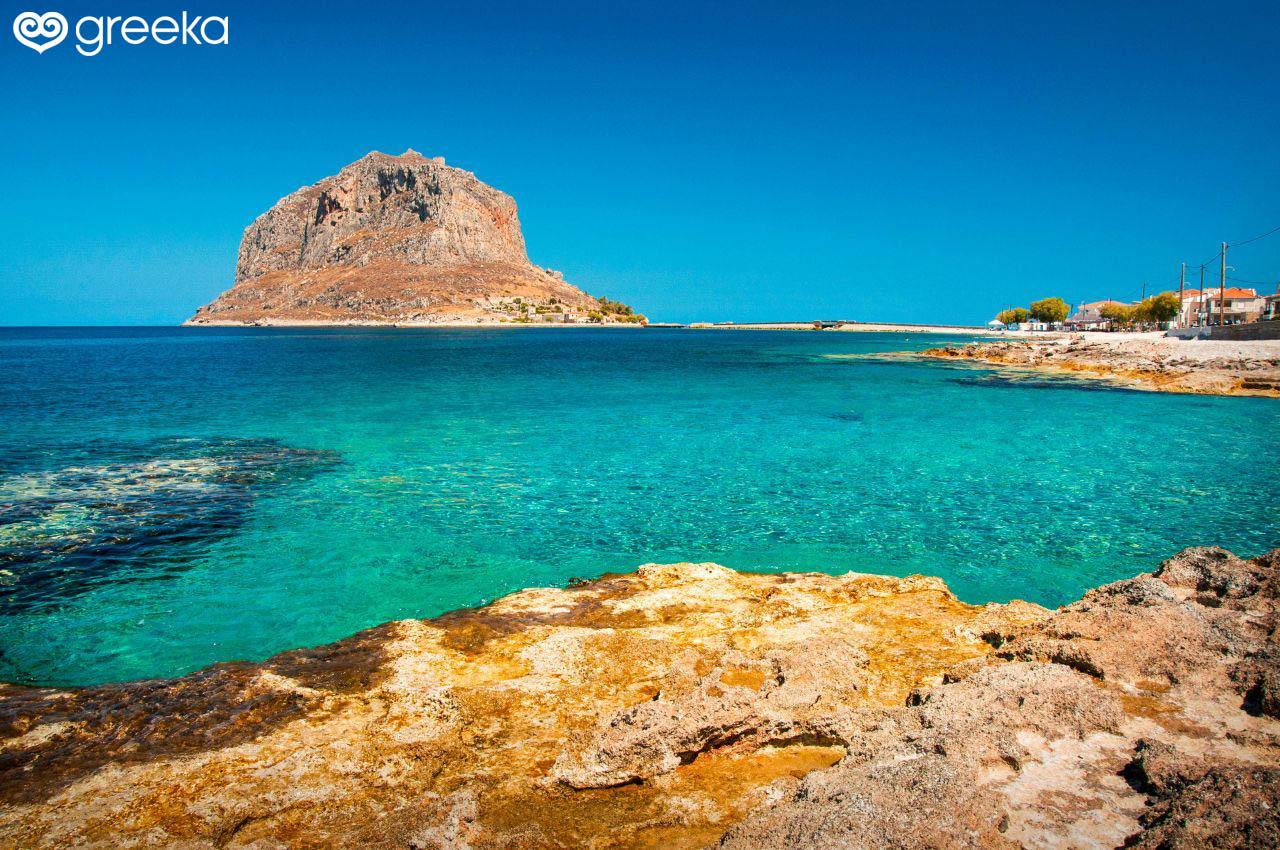 4 καλύτερες παραλίες στη Μονεμβασιά, Ελλάδα |  Γρίκα