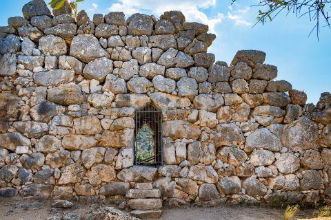 Stone built walls