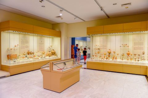 The Archaeological Museum of Mycenae