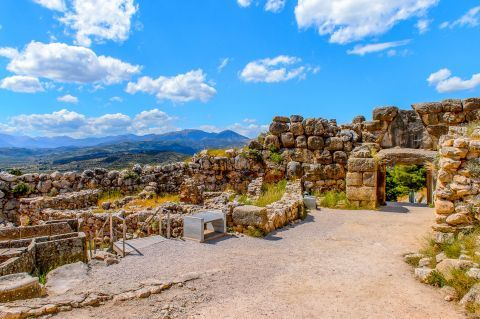 The Archaeological site of Mycenae
