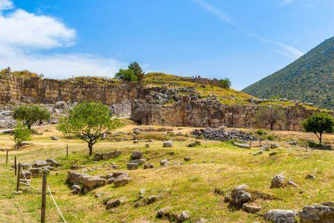Acropolis, Ancient Mycenae