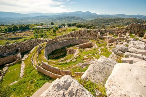 The Ancient site of Mycenae