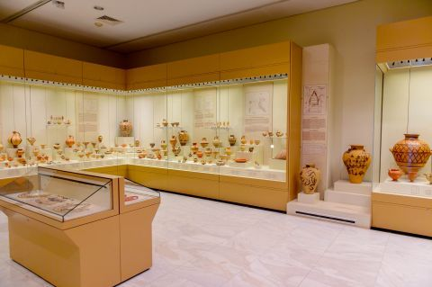 Inside the Archaeological Museum of Mycenae