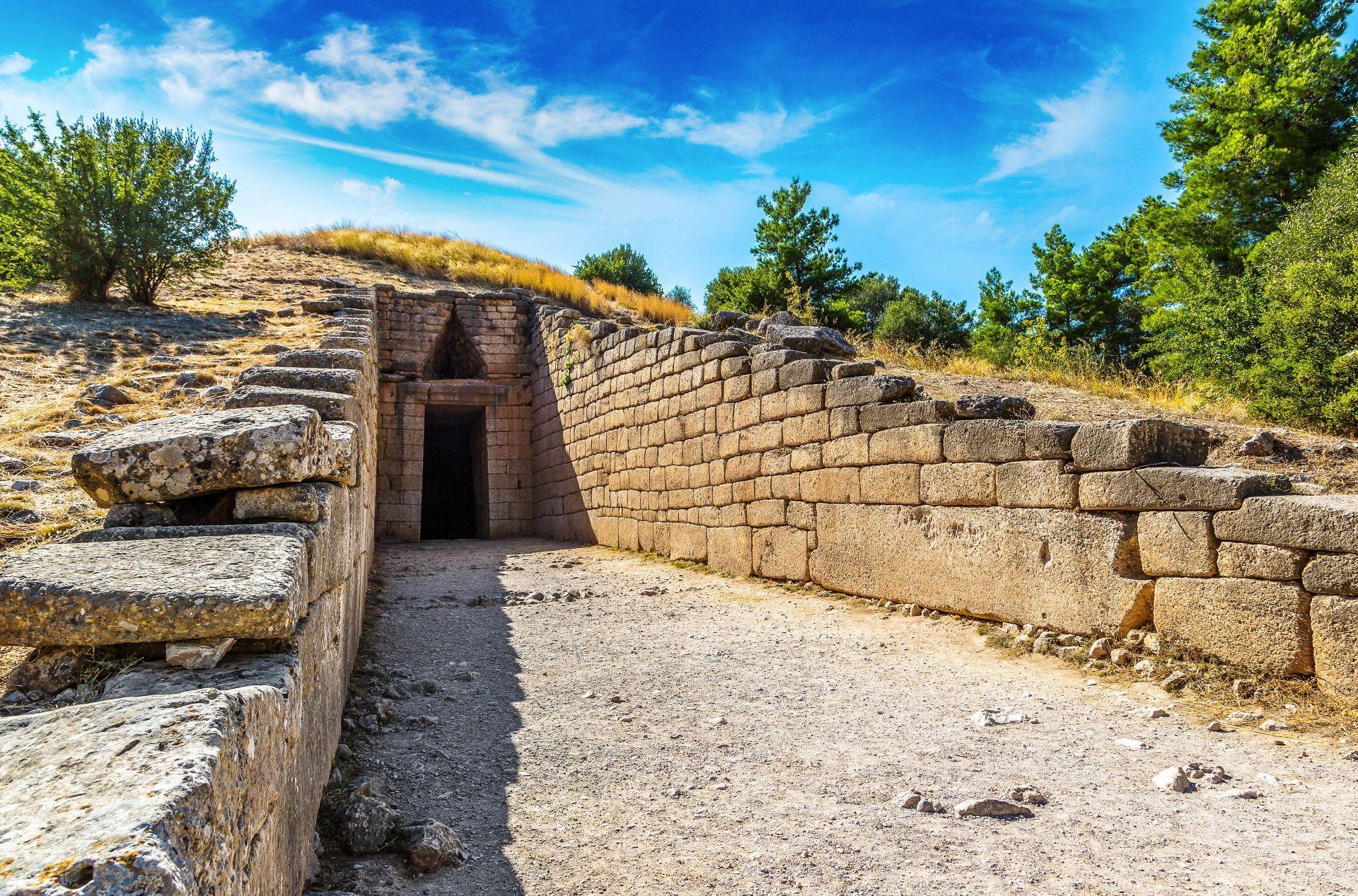 Mycenae: Atreus treasury