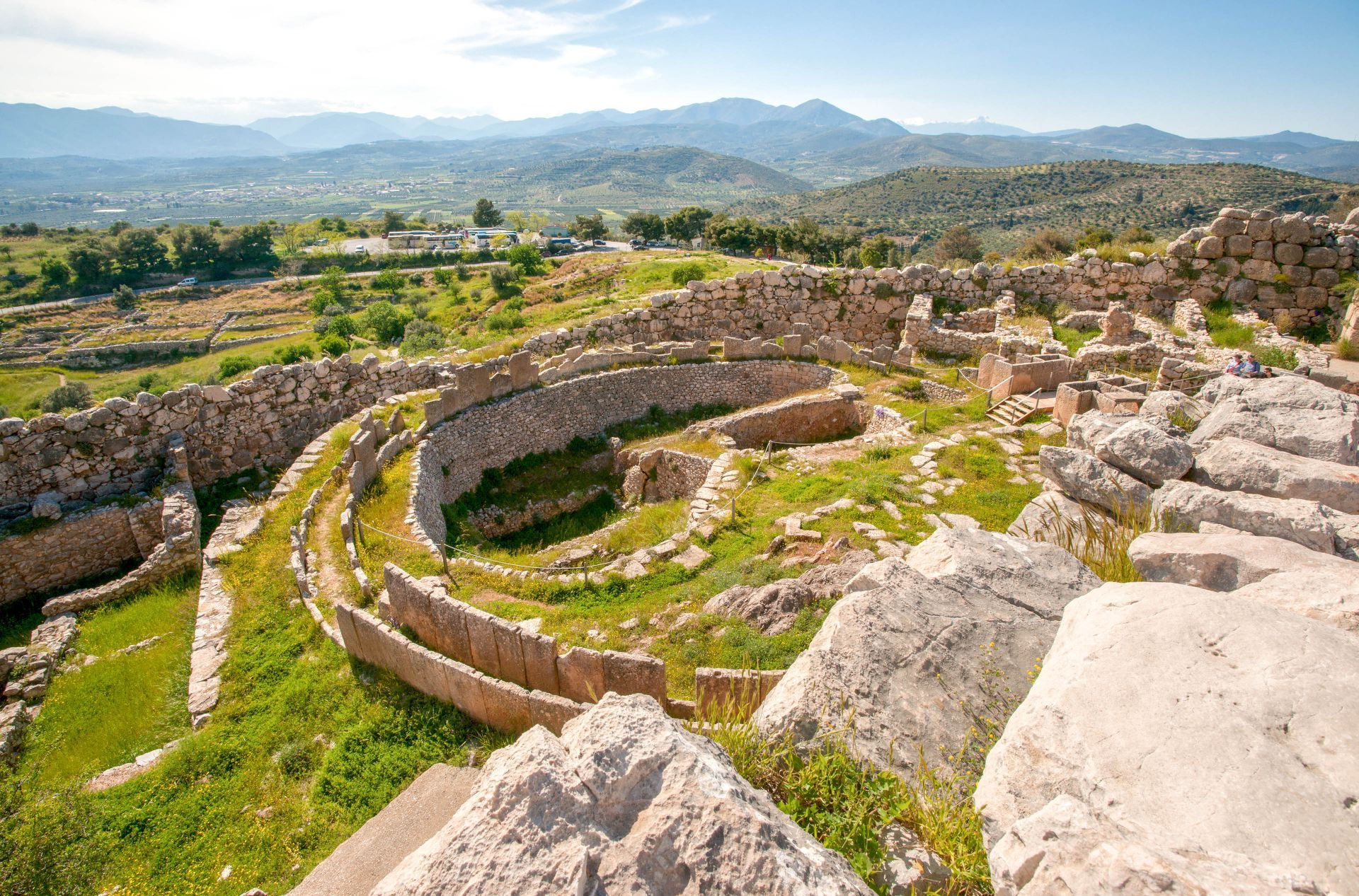 Mycenae: Ancient site